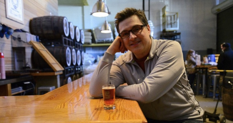 Singlcut Beersmiths' Head Brewer Rich Buceta. Photo courtesy of First We Feast.