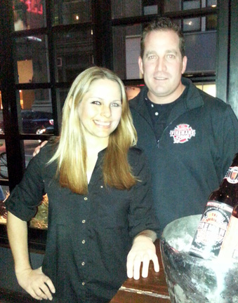 Jeanne Beach and Rob Keiley of Fireman's Brew.
