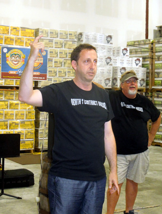 Jeremy Cowan gives a tour of his Shmaltz Brewing, one of 400 new breweries to open in 2013,